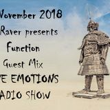 RAVE EMOTIONS RADIO SHOW (13RaVeR) - 14.11.2018. Function Guest Mix @ RAVE EMOTIONS