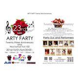 2016/10/1 ARTY FARY 23rd Anniv. REC