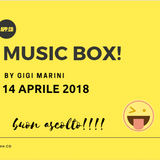 MUSIC BOX del 14 APRILE 2018