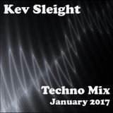 Kev Sleight - Techno Mix - January 2017