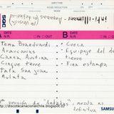 Inti Illimani. Andadas. 1ra versión, mezcla no definitiva. Cassette. 1993