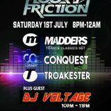 Dj Voltage Floor Friction Guest Mix Live On Radio Saltire 1-7-2017 FREE DOWNLOAD