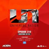 Alex M.O.R.P.H. DJ T.H. - Universal Nation 219 (08.07.2019)
