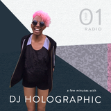 a few minutes with... DJ HOLOGRAPHIC ------------- RED BULL RADIO DETROIT MAY 2018