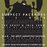 Suspect Packages Radio Show (August 2011)
