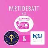 PARTIDEBATT - Ungsvenskarna & KDU (Integration)