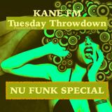 Tuesday Throwdown Nu Funk Special. Two hours of funky breaks and beats to move yo' feets