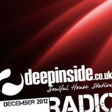DEEPINSIDE - Soulful House Station (December 2012)