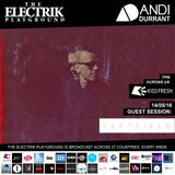 Electrik Playground 14/5/16 inc. Leftfield Guest Session