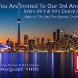 3rd Annual Retro 80's & 90's Boat Cruise Dance Party