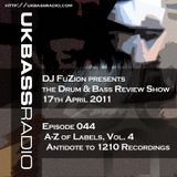 Ep. 044 - A>Z of Drum & Bass Labels, Vol. 4