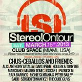 Mladen Tomic - Live @ Club Space - Terrace, Miami, USA, Stereo on Tour WMC 2013, 16.03.2013.