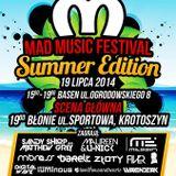 Sebastien Luminous Live Mix @ Mad Music Festival Summer Edition (Krotoszyn)(19.07.2014)