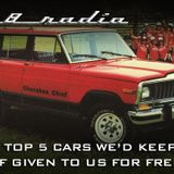 V8 Radio: Top 5 Cars We'd Keep For Free, 2018 Wrap Up, 2X The Trivia, More!