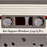 Kei Sugano (Dazzle Drums) Mixshow 3/24/15 Pt.1