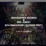 HATAKEN - live at Grasshopper Records & Disc Junkey 10th Anniversary Outdoor party