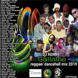 DJ KENNY CALLALOO REGGAE DANCEHALL MIX JULY 2019