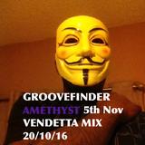 Amethyst Groovefinder November Vendetta Soulful House Promo Mix 20/10/16