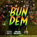 Bun Dem - Cloudwaves on RTR.FM - 9th October 2017
