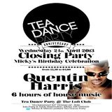 Quentin Harris @ Tea Dance Party, Vicenza ITA - 24.04.2013 - (Micky's BD Party)