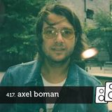 Soundwall Podcast #417: Axel Boman