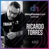 deephouse.com podcast 003 with Ricardo Torres