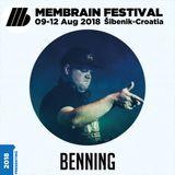 Benning - Membrain Festival 2018 Promo Mix