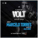 Zalo Arce - Volt Club - Warmup Marcelo Torres - Noviembre 16-11-18