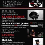 20140311 20h-21h (GMT+1) Subwoofer Records Guest Radio Show014 w/Klangtronik (Subwoofer Records)