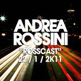 "Andrea Rossini - ""RossCast"" - 22/1/2011"