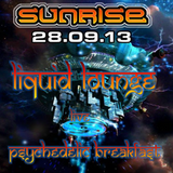 Liquid Lounge - Live @ Sunrise - Psychedelic Breakfast 28th Sept