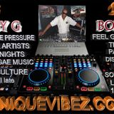 BOBBY G ON YOUR RADIO UNIQUEVIBEZ.COM THURSDAY 16th MARCH 2017