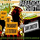 TEXTBEAK - DJ SET PARADIGM SHIFT THE CHAMBER DEC 22 2017
