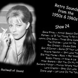 The Backwall Of Sound Retro Mix 1950s & 1960s - Show 24
