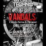 VANDALS 6.0 Recorded Live at Mansion Club (Medellin) Oct.11.2013 Pt1