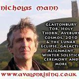 NICHOLAS MANN - Avebury Cosmos & Glastonbury Mysteries - 14/12/10