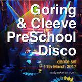 Goring & Cleeve PreSchool Disco - Dance Set 2017