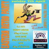 "Bountyhunter & Dave Davis at ""Eastern Retro Party"" @ Planet Hardcore (Berlare-Belgium) -7 April 1996"