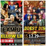 29.30.DEC.2015 RISE SHOT 1st ANNIVERSARY & TEAM UP meets YELLOW LIFE MUSIC BY HOT SIGNAL