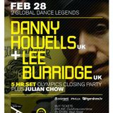 Danny Howells and Lee Burridge - Shine, Vancouver, Olympics Closing Party (28-02-2010)