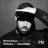 DJ Doncho – :PM Club Podcast – February 2016