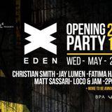 Fatima Hajji - Live at Eden Opening Party (Ibiza) - 25-May-2018