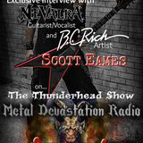 The Thunderhead Show Interview with Scott From The Extreme Metal Band Nevalra with DJ Thunderess
