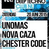 Nova Caza Live @ Vet! Club NL 20 - 06 - 2015