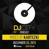 Kartezki - DJcity Benelux Podcast - 25/12/15