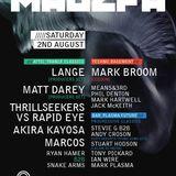 Mark Plasma - Majefa, Plasma Future Room @ Sound Control, Manchester - 02.08.14
