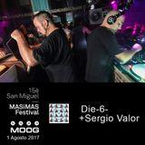 Die-6- + Sergio Valor Moog Barcelona 1 Agosto 2017