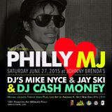 DJ Cash Money live @ Philly Loves MJ Party 2015