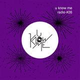 U Know Me Radio #26 | EXCLUSIVE - Rysy feat. Justyna Święs | Wasabi - 2X2A | Polish Juke - Comoc