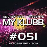 MY KLUBB #051 WEEK 43-2019